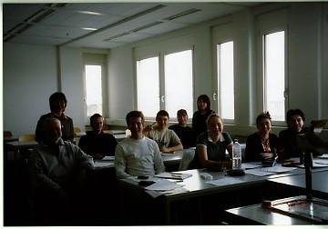 日本語を学ぶ学生達